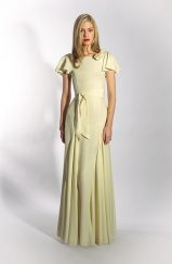 Belle & Bunty Gowns - Willow in cream, UK 14